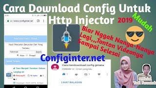 Gambar cover Cara Download Config Untuk Http Injector || #ConfigHttpInjector
