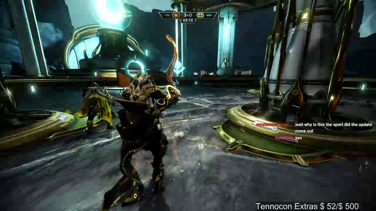 Warframe - Lunaro with Friends - YouTube