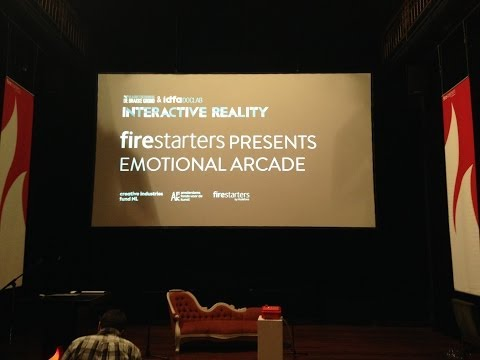 THE EMOTIONAL ARCADE LIVE EVENT IDFA, AMSTERDAM 2013