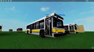 roblox hybrid electric mbta bus