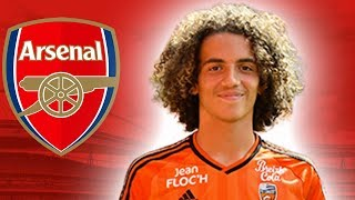 MATTEO GUENDOUZI | Welcome To Arsenal | Ultimate Skills & Passing 2018 (HD)