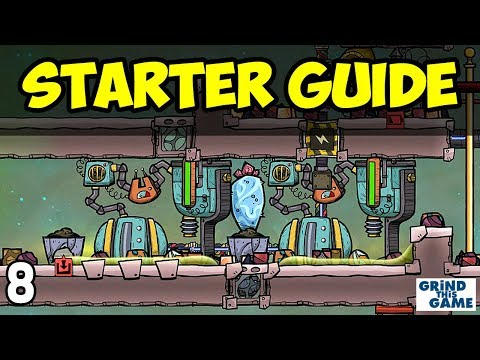 Oxygen Not Included - Tutorial Guide (2018) #8 - Natural Gas Generator Setup