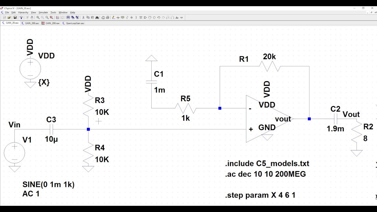 Introduction to Operational Amplifiers with LTSpice - learn sparkfun com