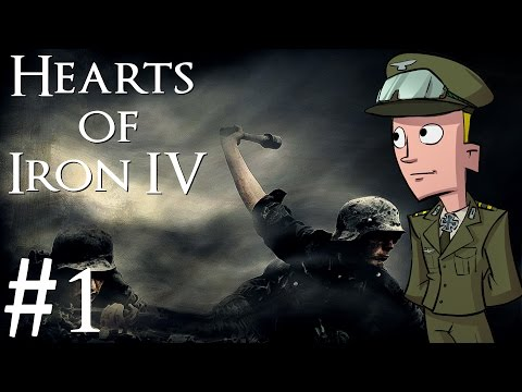 Hearts of Iron 4 | Germany | Part 1 | The German Reich