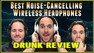 Best Noise Cancelling Headphones - Drunk Tech Review - Bose vs. JBL vs. Sharkk