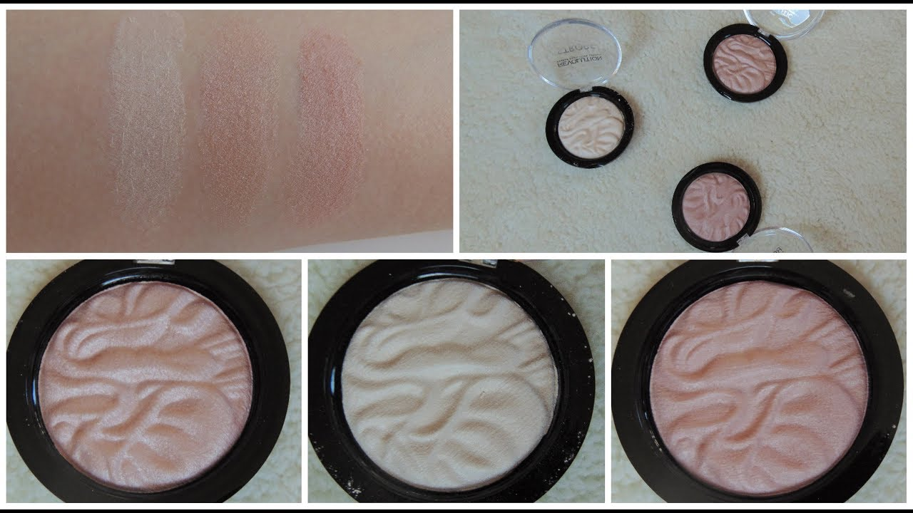 Makeup revolution light and glow