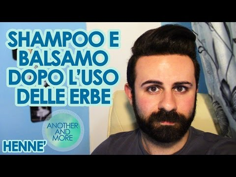 Shampoo e Balsamo dopo Henné, Erbe Tintorie o Curative - {Another and More}