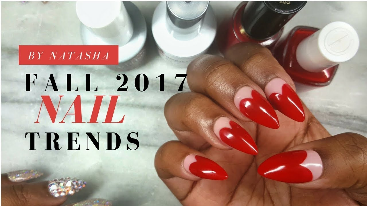 Fall 2017 Nail Trends | Nail Art Trends | Fall Color Nails | Gel ...