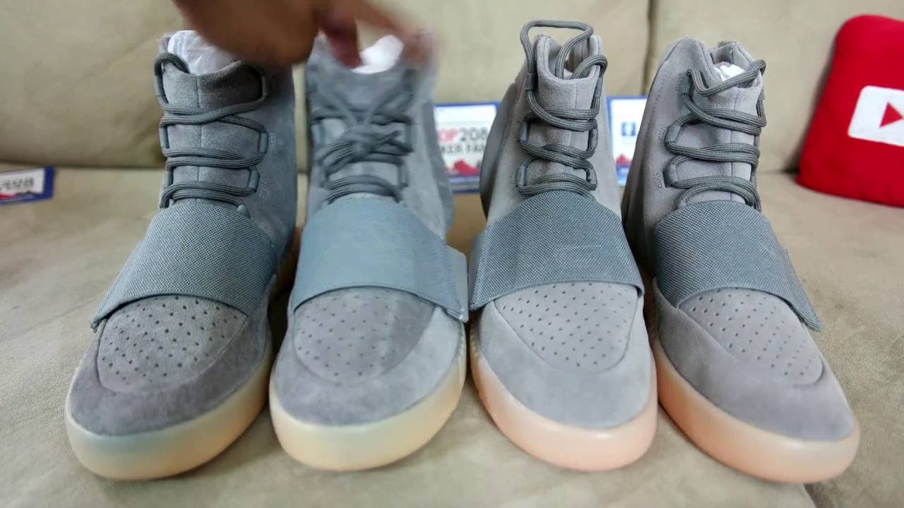 adidas yeezy 750 boost fake vs real