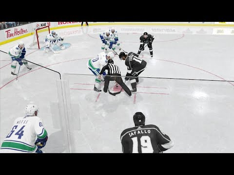 NHL™ 18 Los Angeles Kings-Vancouver Canucks season 2017/2018 NHL game