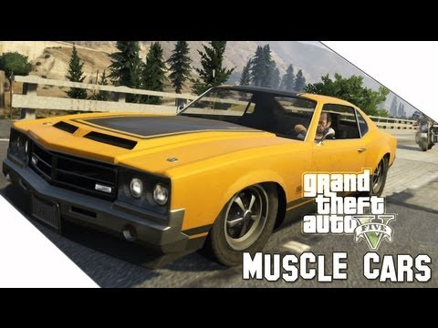 Gta V Muscle Cars Locations Youtube