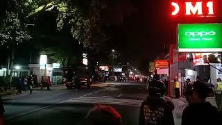 Tawuran Mall Dinoyo Malang
