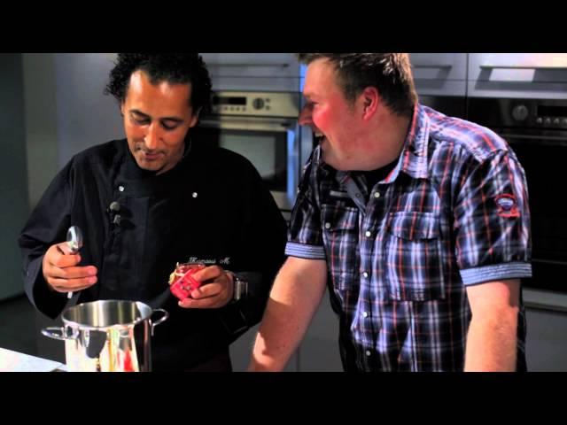 Streekmarkt.be videogerecht 3: Gegrilde aardbeien