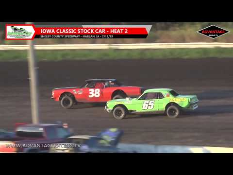 IMCA Sport Modifieds and the Iowa Classic Stock Cars come to fling the dirt around the Shelby County Speedway in Harlan, IA. You can see this event and ... - dirt track racing video image