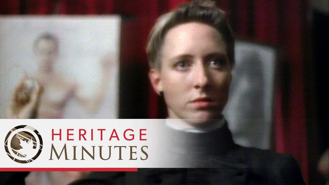 Heritage Minutes: Jennie Trout - YouTube