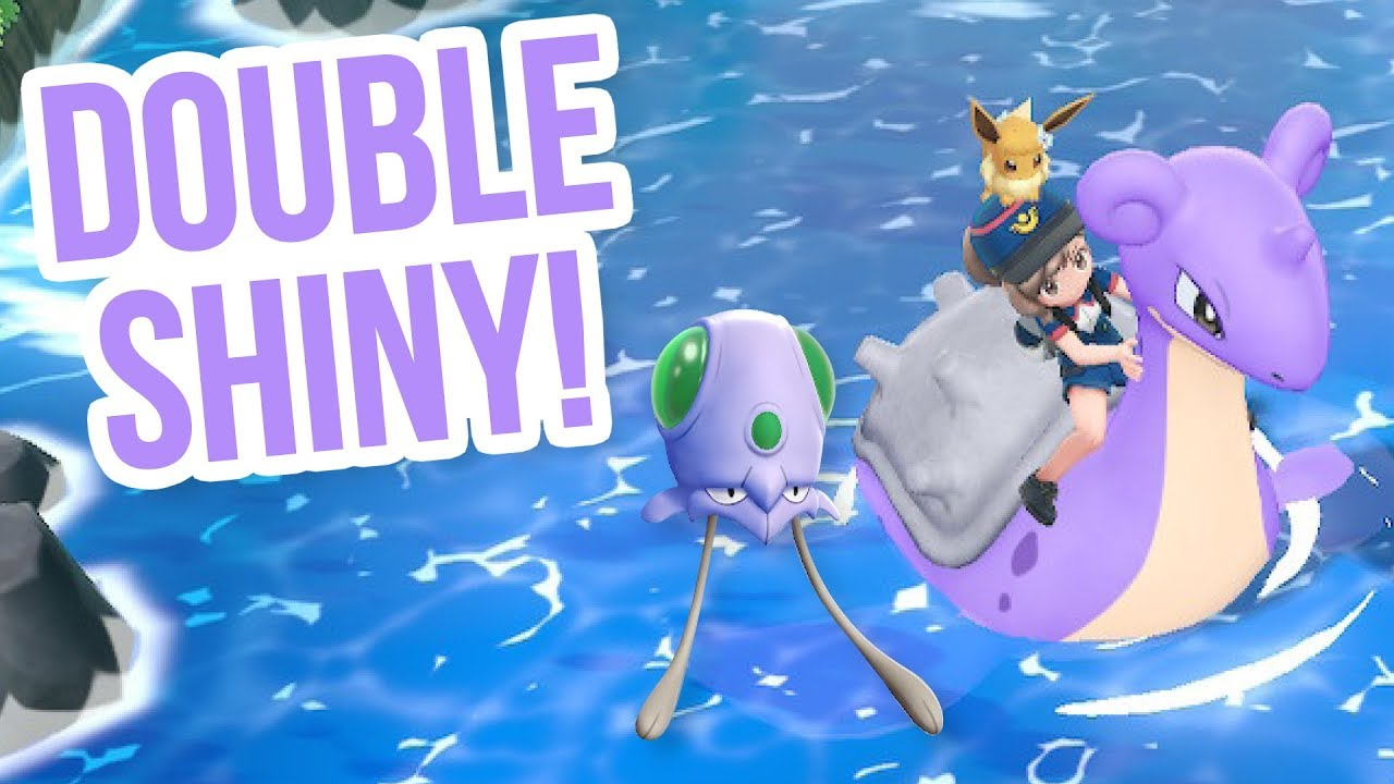 Shiny Lapras Tentacool Headphone Warning Pokémon Let S Go Shiny Hunt Youtube