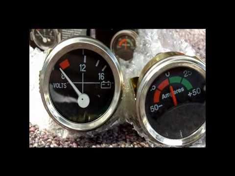 pricol oil pressure gauge wiring diagram duplex outlet gauges 28 images hqdefault vw bus volt and amp installed or what i did on saturday