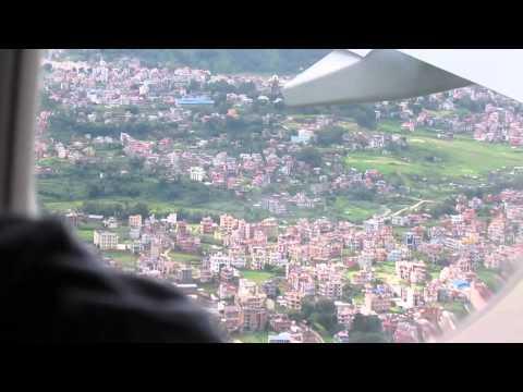 landing at nepal