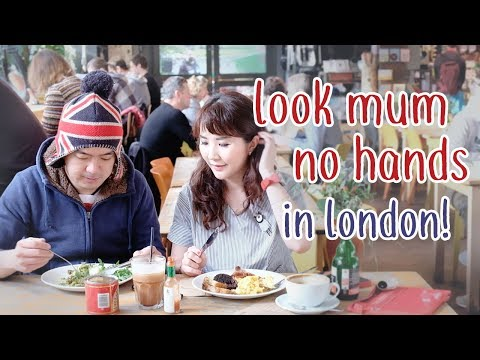 Vlog Myfunfoodiary: Look Mum No Hands - London, UK