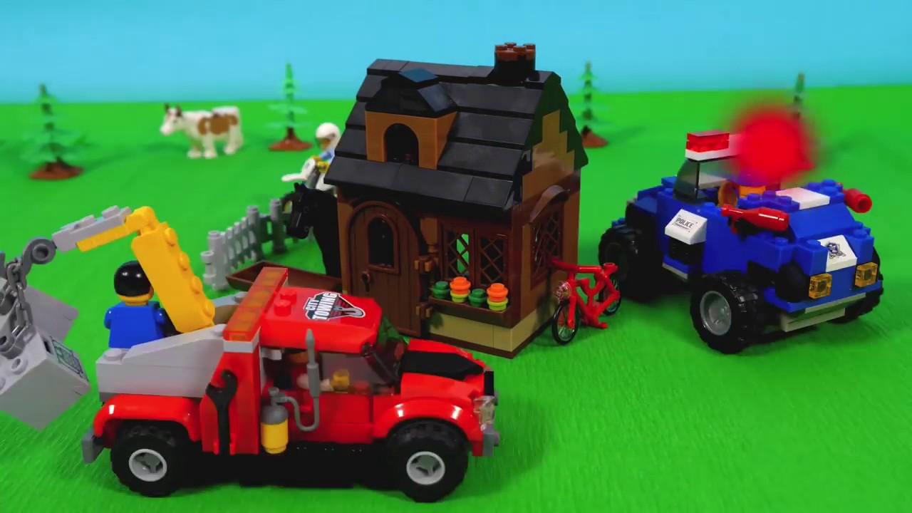 TREN PARA NIÑOS video de dibujos animados de LEGO tren de juguete El ...