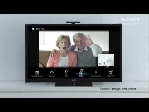 BRAVIA Internet TV - Skype Calling