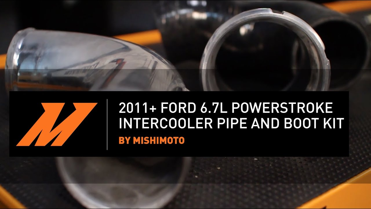 2011 2016 Ford 67l Powerstroke Intercooler Pipe And Boot Kit Features Benefits 7 3 Top Wiring Harness Diagram