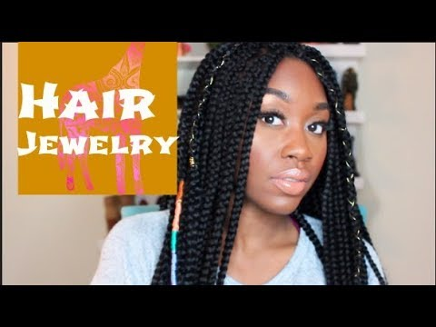 DIY:  Crochet Braid Accessories + Hair Jewelry | Shanese Danae