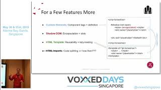 Web Western: The Good, The Bad And The Web Components - Voxxed Days Singapore 2019