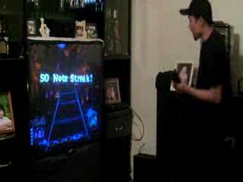 Saksi Ni Jorge (Ray) - Dragonforce Guitar Hero 3 HYPERSPEED Travel Video