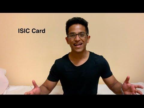 International Student Identity Card - ISIC Card