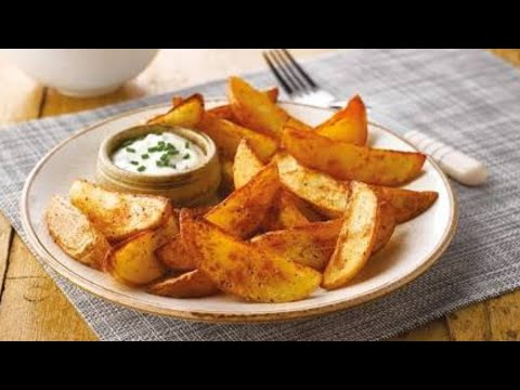 detailed look amazing selection classic fit How to make potato wedges| potato wedges| vegetable wedges| without oven in  urdu
