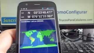 Cómo usar gps sin internet android Motorola Moto G X T1032 español comoconfigurar