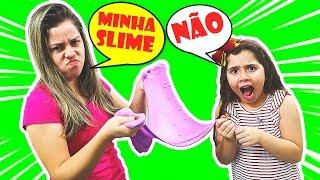 HELO E MAMÃE NÃO DIVIDEM A MESMA SLIME! both want the same Slime