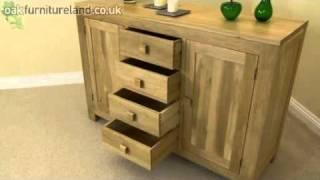 Oakdale Solid Oak Large Sideboard From Oak Furniture Land