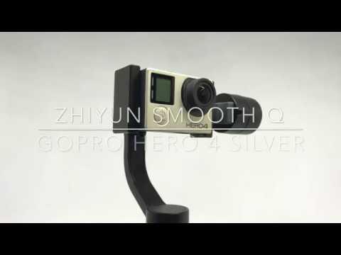 Zhiyun Smooth Q + GoPro HERO4 Silver - YouTube