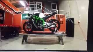 SIC Racing Team - 2015 Factory KTM Moto3 Bike Build