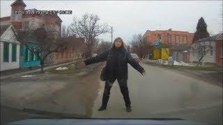 #1 Пешеходы-нарушители не хотят жить? / Idiots!