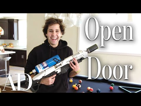 Inside David Dobriks $2.5M Los Angeles Home | Open Door | Architectural Digest