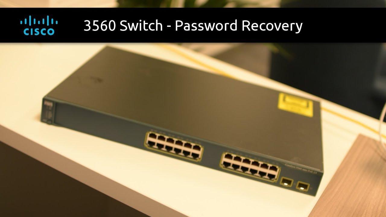 Cisco Switch - Password Recovery