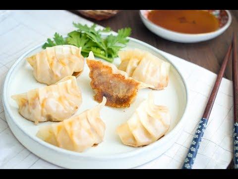 黃金泡菜煎餃子食譜  簡易做法 |Kimchi Gyoza (dumplings/ potstickers) Recipe
