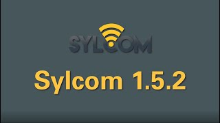 New features of Sylcom Version 1.5.2