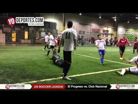 Progreso vs. Club Nacional United States Soccer League