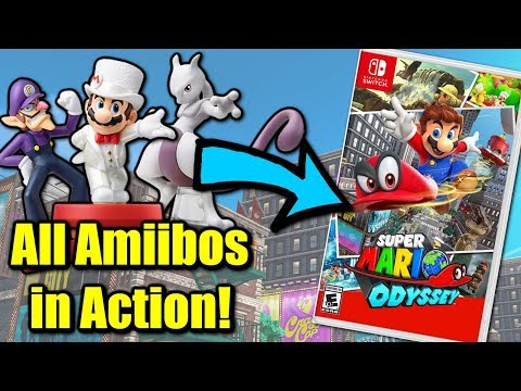 Super Mario Odyssey - What do ALL Amiibos do?