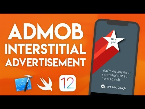 Swift 4.2 Xcode Tutorial - AdMob Interstitial Ads - iOS 12 Geeky Lemon Development thumbnail