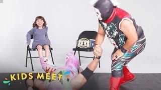 Kids Meet a Luchador   Kids Meet   HiHo Kids