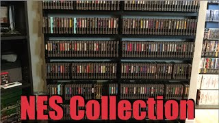Massive Nintendo NES Collection - Over 400 Games! - 2015