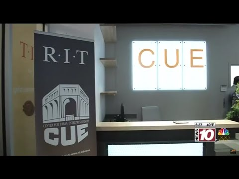 RIT on TV: Center for Urban Entrepreneurship opens downtown