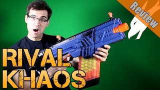 New Nerf Review! | Rival Khaos MXVI-4000 | Chrono and Accuracy Tests | Is it worth it?