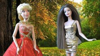 Золушка, Мультфильмы Куклами Дисней, Крестная колдует новое платья для Золушки на королевский Бал