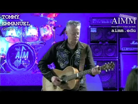 AIMM Archives - Tommy Emmanuel (2012)
